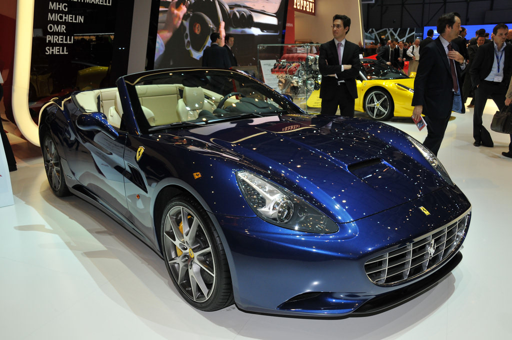 Ferrari Dealership California