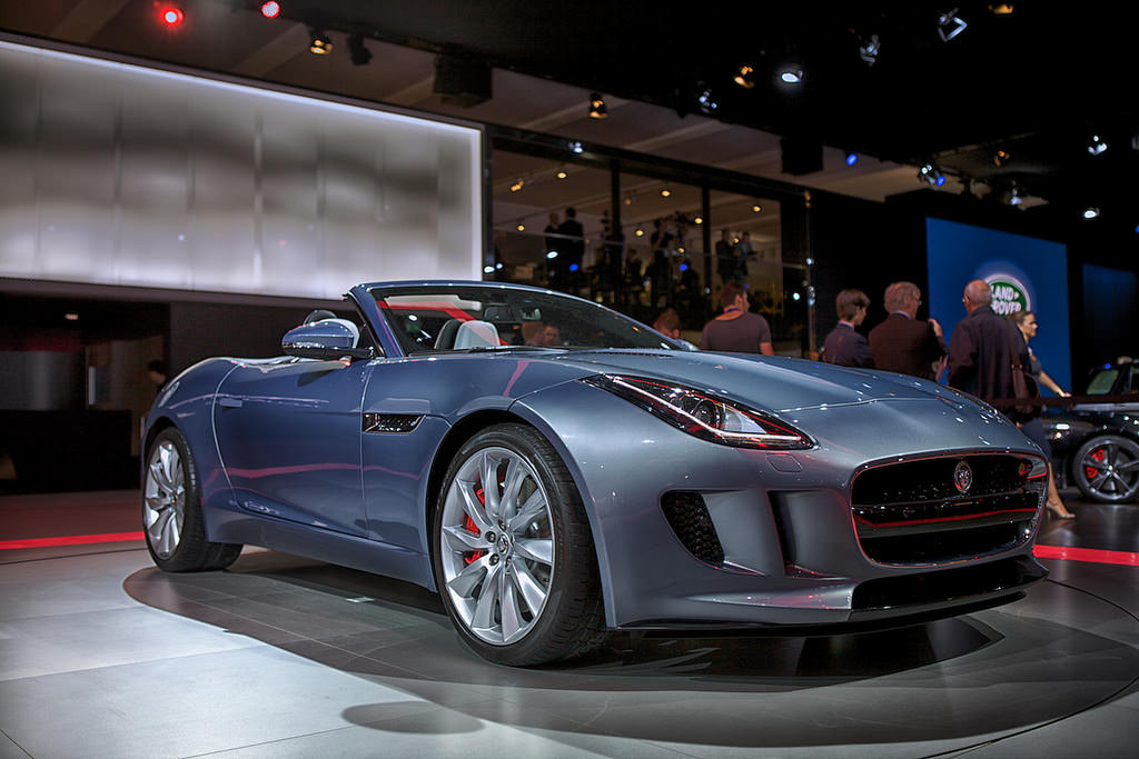 12. Jaguar F-Type