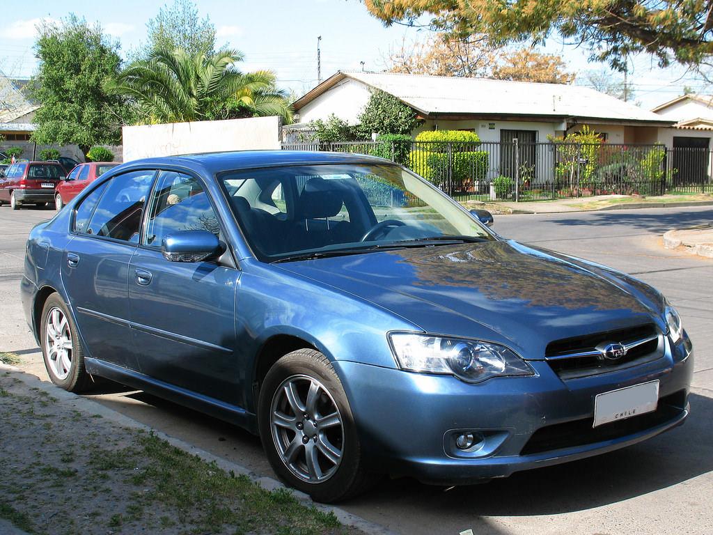9. Subaru Legacy